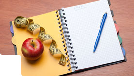 Faça um diário do que você come